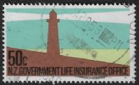 New Zealand Life Insurance SG  L69 1981 50c good/fine used